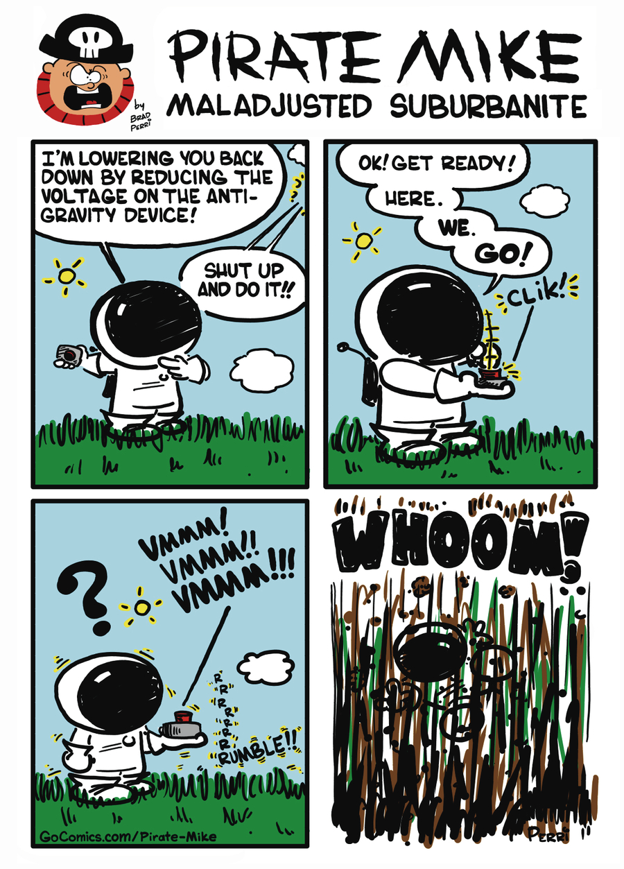 Pirate Mike Comic Strip for October 10, 2019