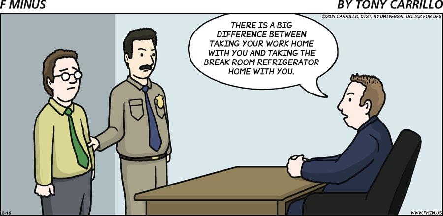F Minus for Feb 16, 2014 Comic Strip