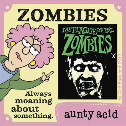 Aunty Acid for Jul 7, 2013 Comic Strip