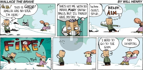 Wallace the Brave on Sunday December 15, 2019 Comic Strip
