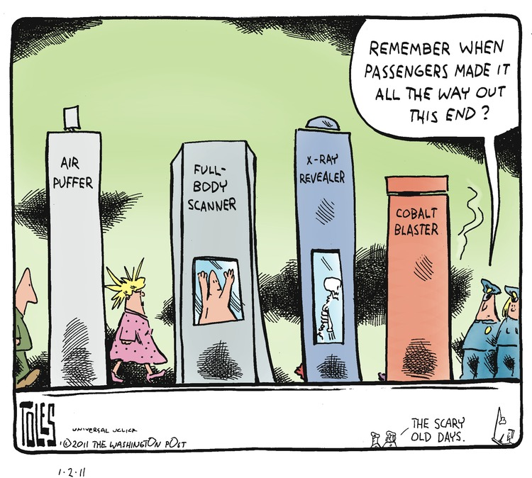 Tom Toles Comic Strip for January 02, 2011