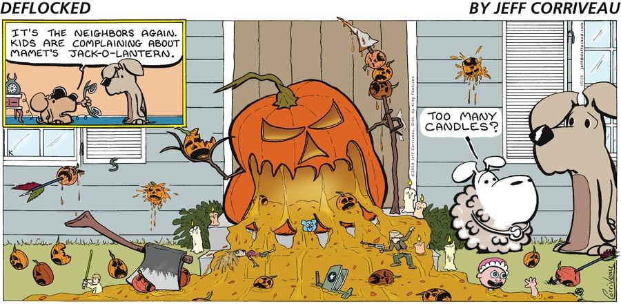 DeFlocked Comic Strip for October 19, 2008