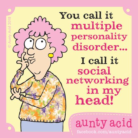 Aunty Acid Comic Strip for April 13, 2018