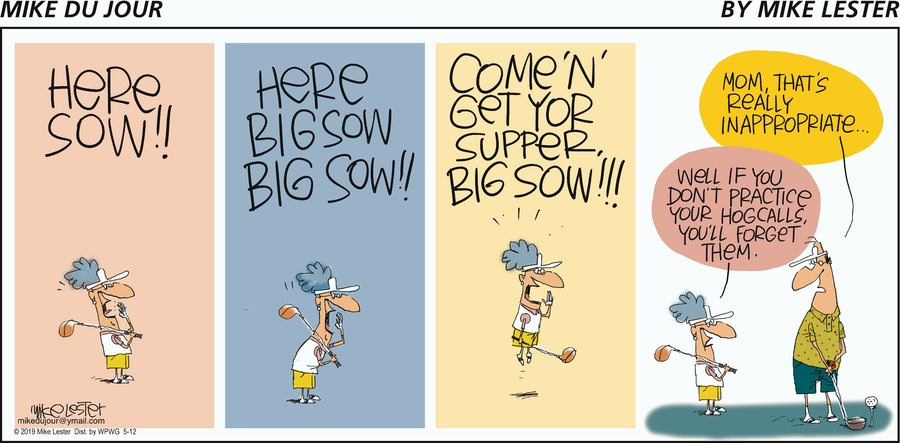 Mike du Jour by Mike Lester for May 12, 2019