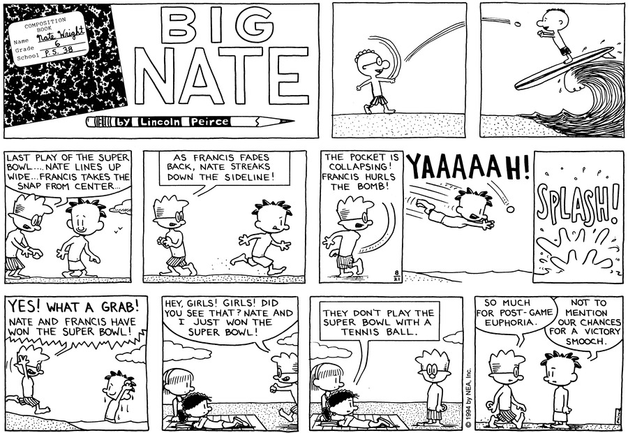 Big Nate: First Class Comic Strip for September 01, 2019