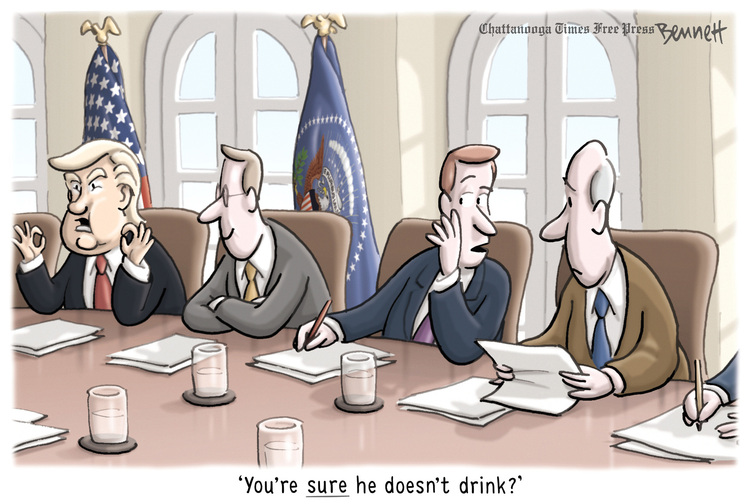 Clay Bennett by Clay Bennett for January 06, 2019