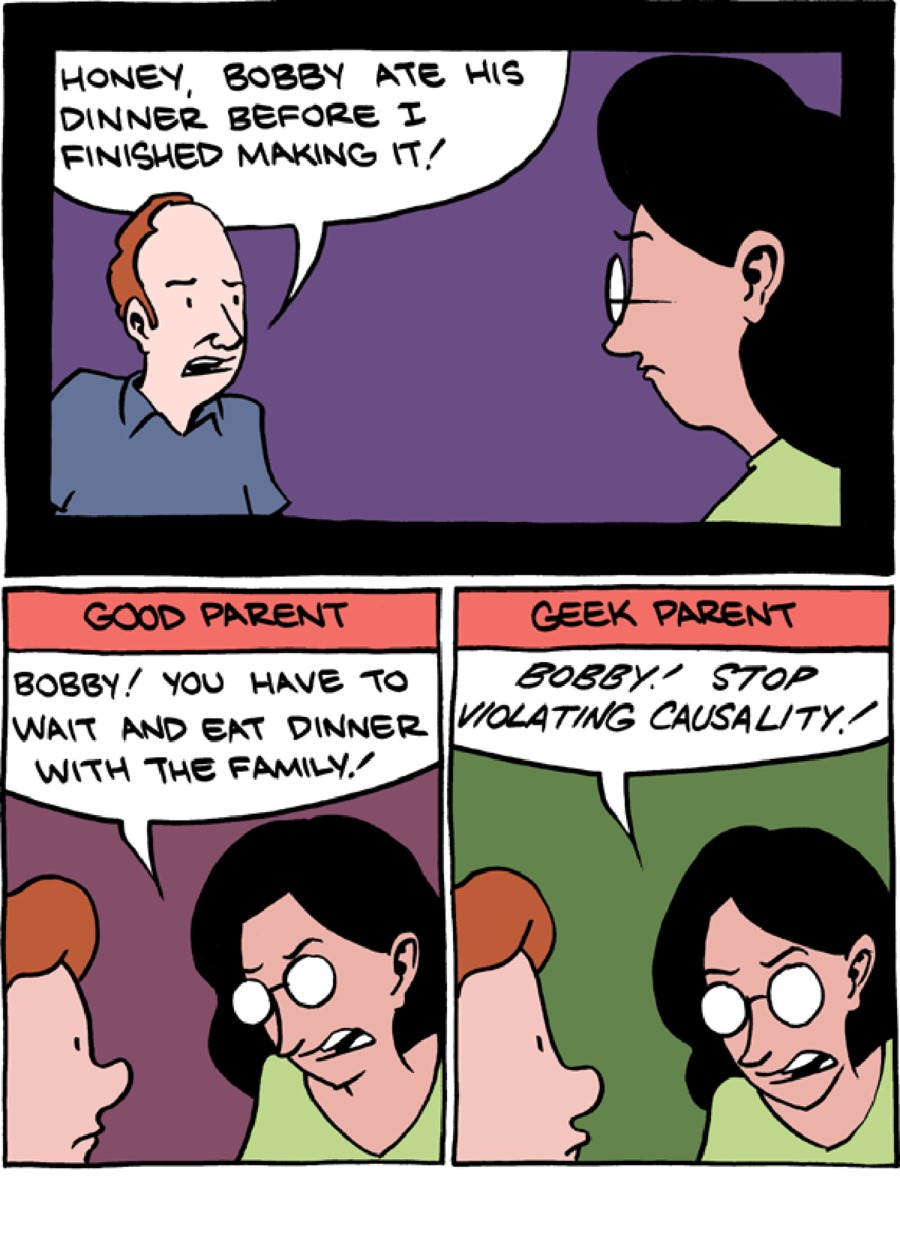 Saturday Morning Breakfast Cereal Comic Strip for June 21, 2015