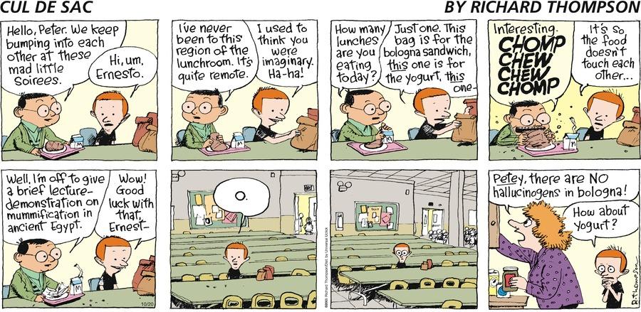 Cul de Sac Comic Strip for October 20, 2013