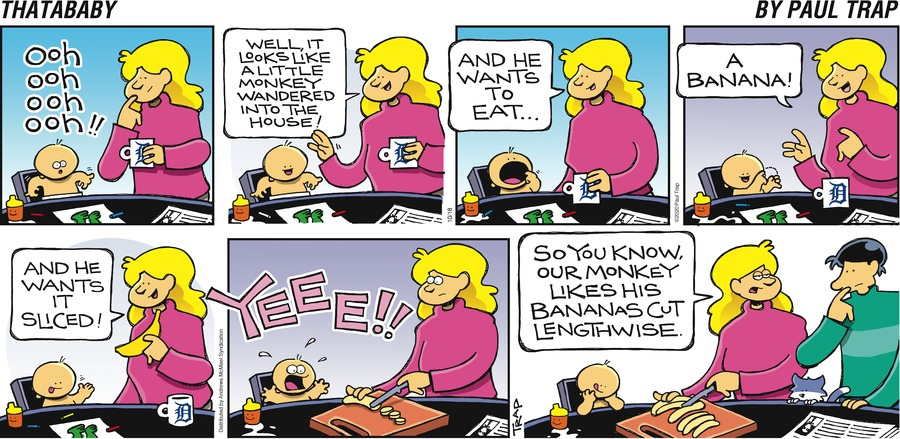 Thatababy Comic Strip for October 18, 2020