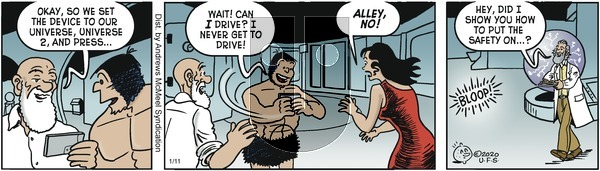 Alley Oop - Saturday January 11, 2020 Comic Strip