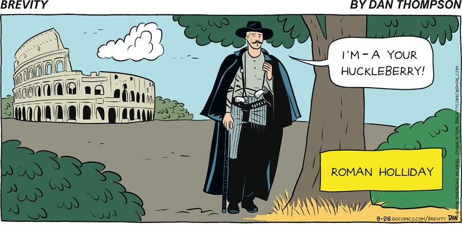 Brevity Comic Strip for September 26, 2021