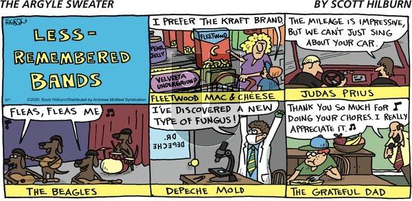 The Argyle Sweater - Sunday June 7, 2020 Comic Strip