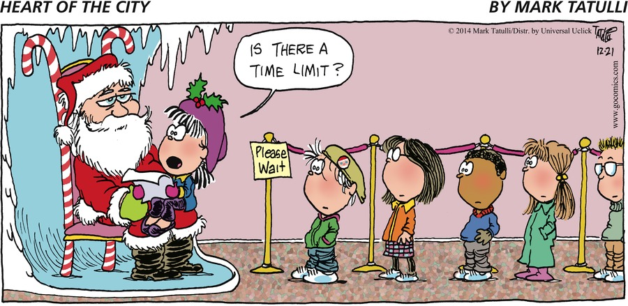 Heart of the City for Dec 21, 2014 Comic Strip