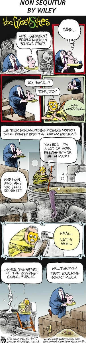 Non Sequitur on Sunday March 27, 2016 Comic Strip