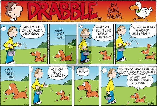 Drabble on Sunday March 27, 2016 Comic Strip