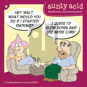 Aunty Acid on Saturday October 28, 2017 Comic Strip
