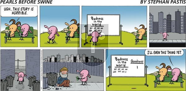 Pearls Before Swine on Sunday October 27, 2019 Comic Strip