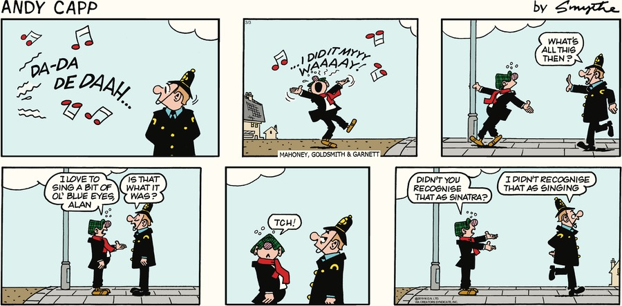 Andy Capp by Reg Smythe for March 03, 2019