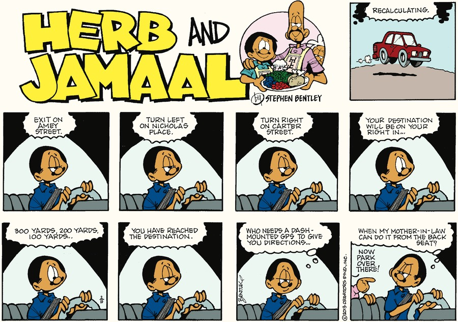 Herb and Jamaal Comic Strip for February 10, 2019