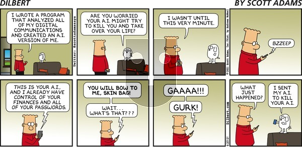 Dilbert on Sunday June 20, 2021 Comic Strip