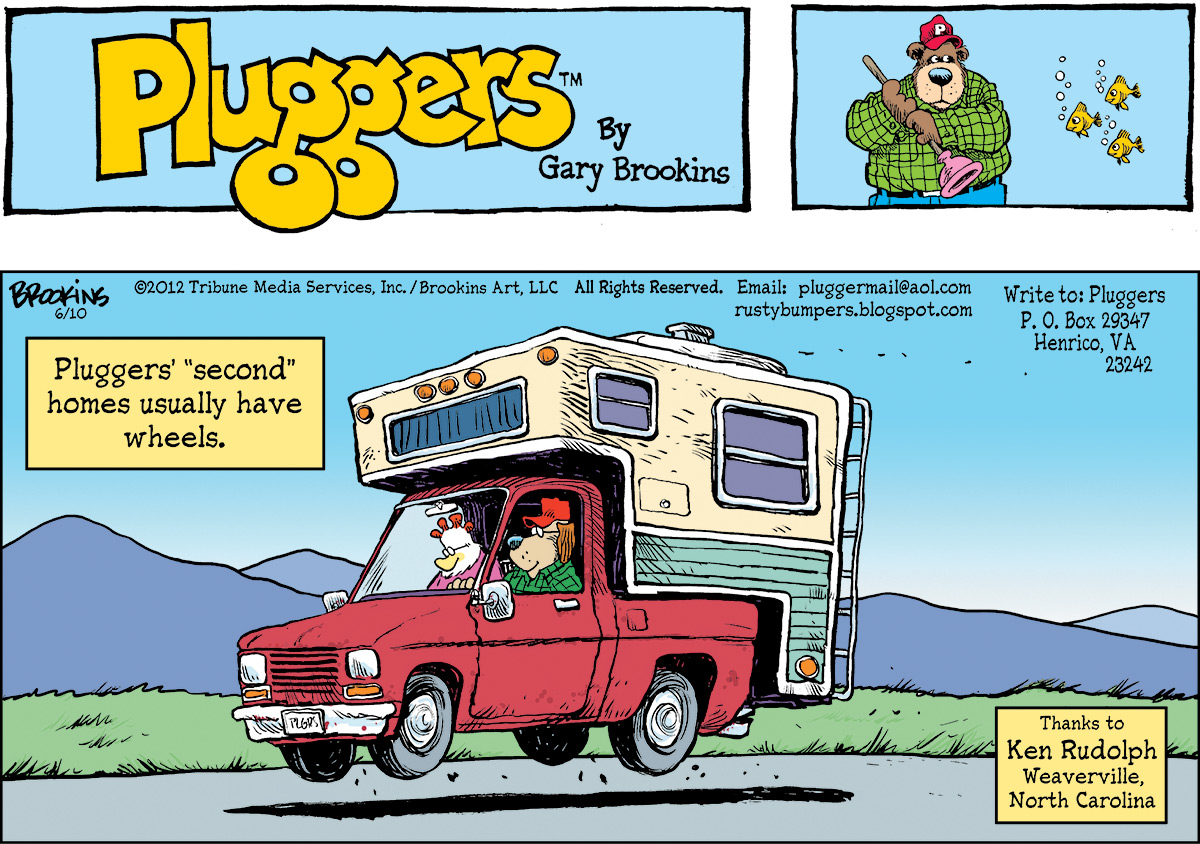 Pluggers Comic Strip for June 10, 2012