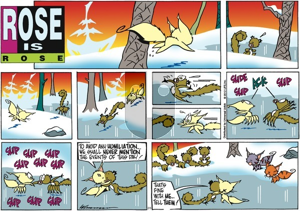 Rose is Rose on Sunday February 5, 2012 Comic Strip