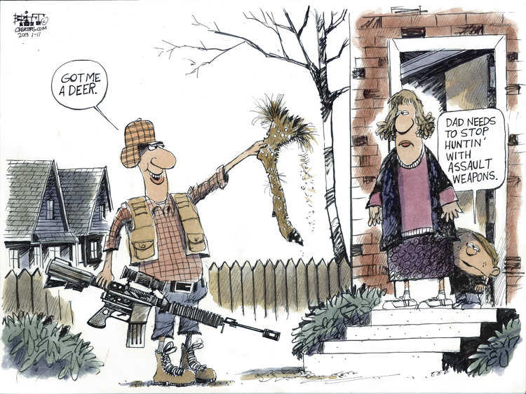 Chris Britt for Jan 11, 2013 Comic Strip