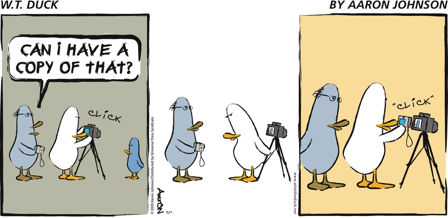 W.T. Duck Comic Strip for March 14, 2021