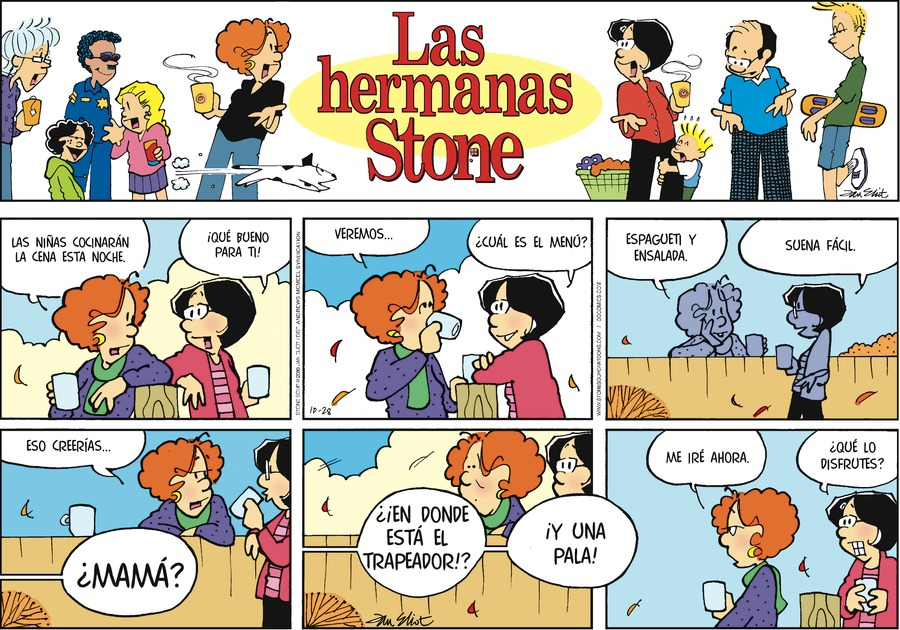 Las Hermanas Stone by Jan Eliot for October 28, 2018