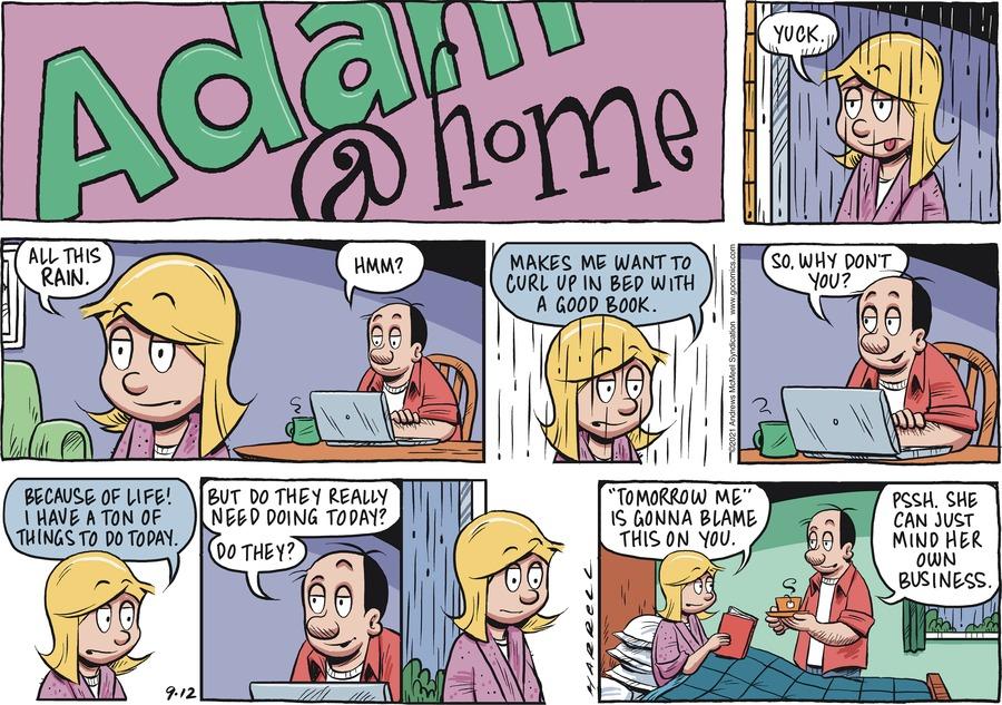 Adam@Home Comic Strip for September 12, 2021