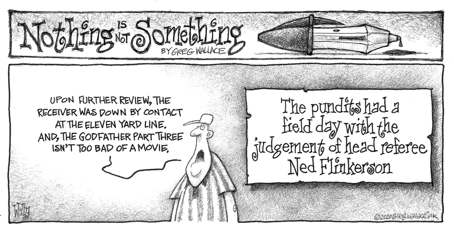 Nothing is Not Something Comic Strip for February 02, 2020