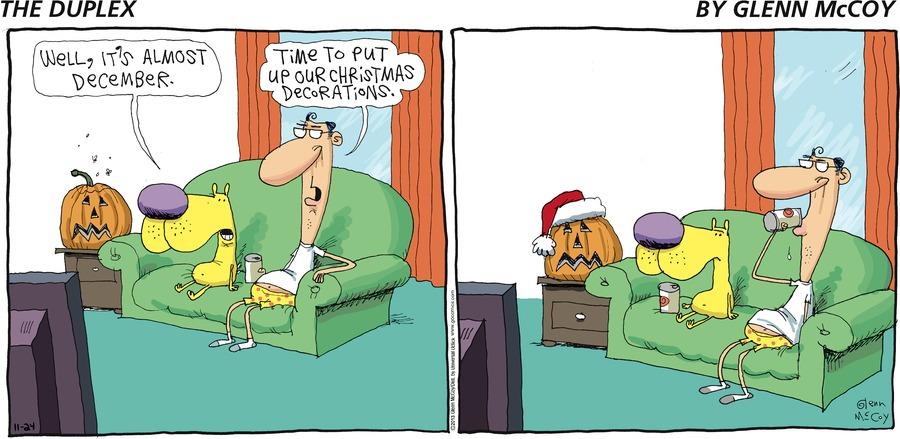 The Duplex Comic Strip for November 24, 2013