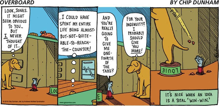 Overboard Comic Strip for June 16, 2019