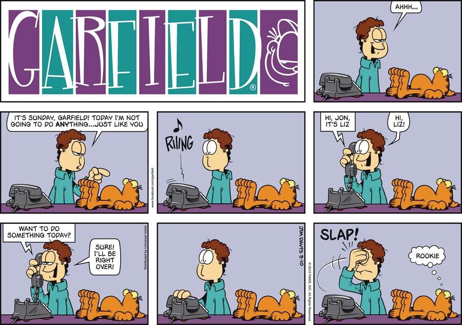Garfield for Mar 10, 2013 Comic Strip