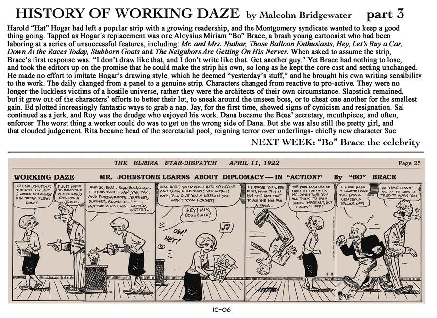 Working Daze Comic Strip for October 06, 2013
