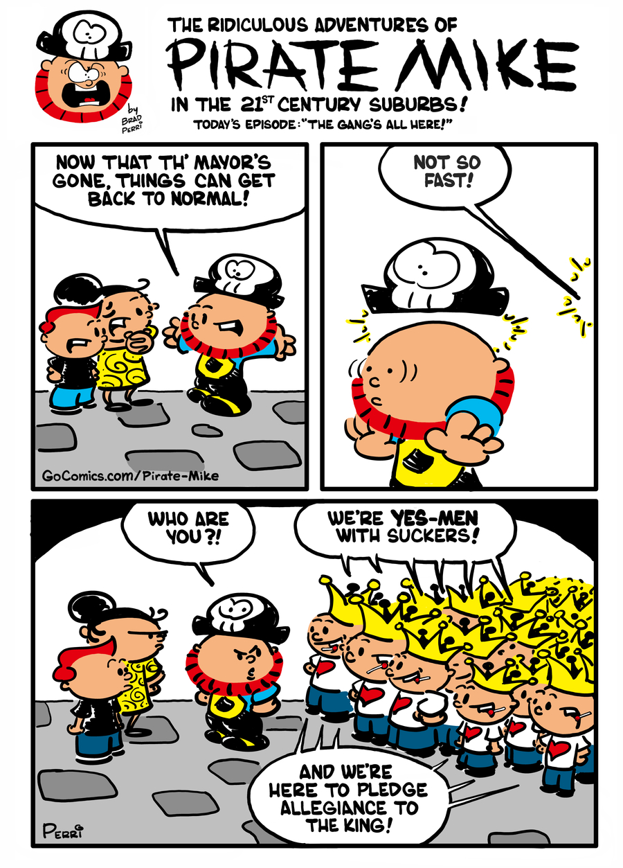 Pirate Mike Comic Strip for January 27, 2021