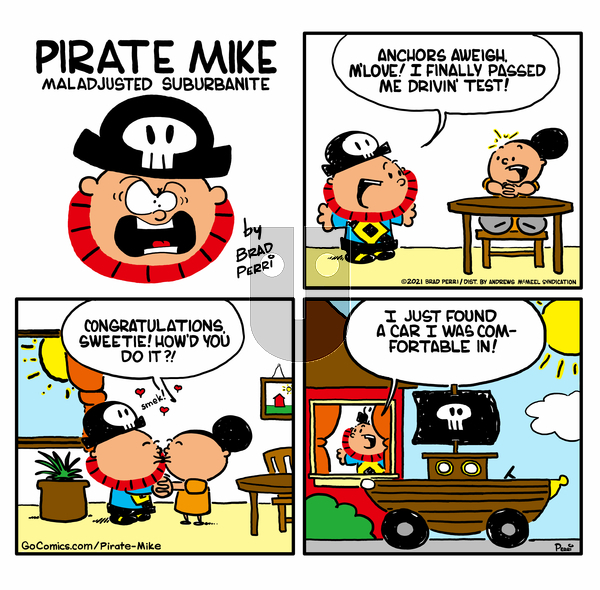 Pirate Mike on Wednesday March 31, 2021 Comic Strip