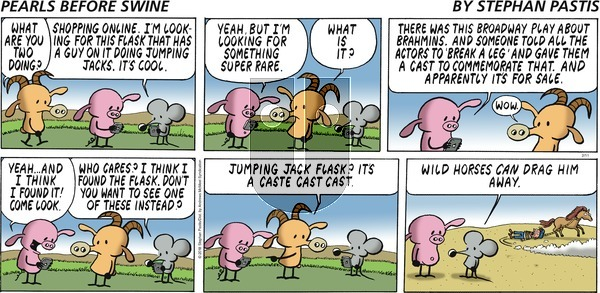 Pearls Before Swine on Sunday February 11, 2018 Comic Strip