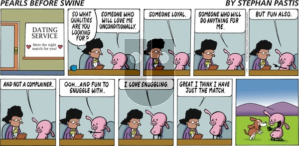 Pearls Before Swine on Sunday January 19, 2020 Comic Strip