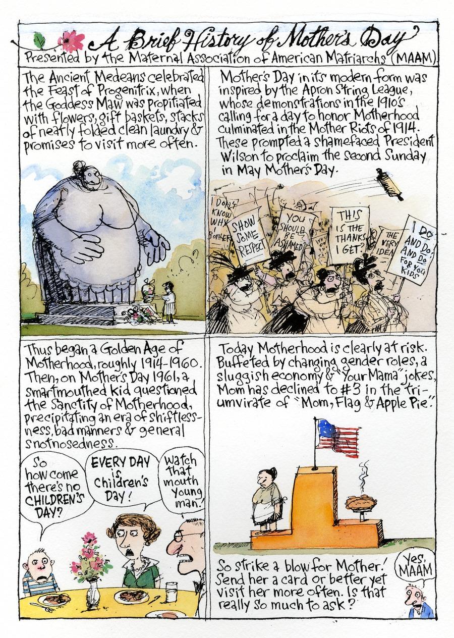 Richard's Poor Almanac Comic Strip for May 08, 2016