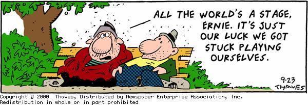 Frank and Ernest Comic Strip for September 23, 2000