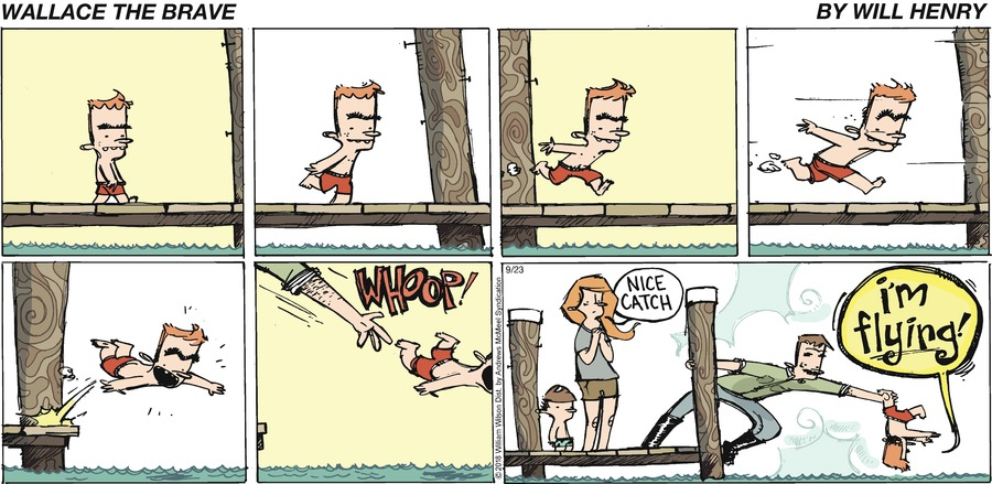 Wallace the Brave Comic Strip for September 23, 2018