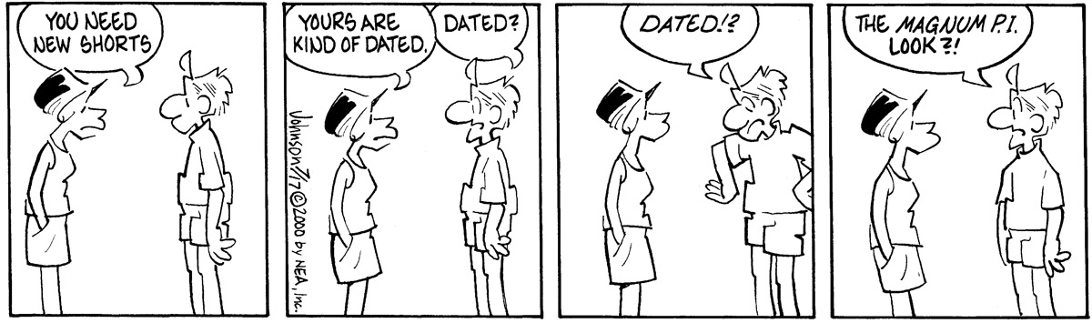 Arlo and Janis Comic Strip for July 17, 2000