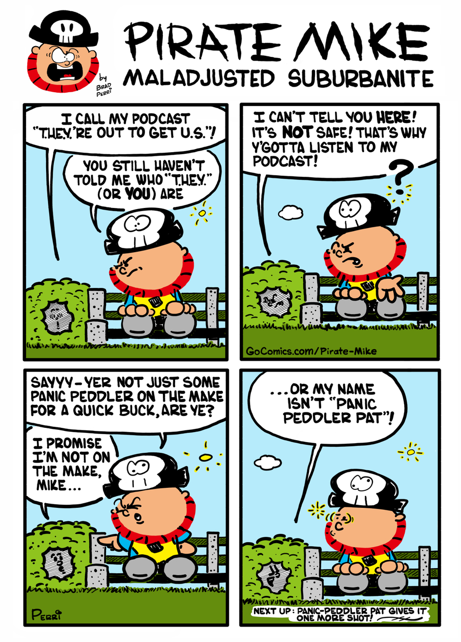 Pirate Mike Comic Strip for November 14, 2019