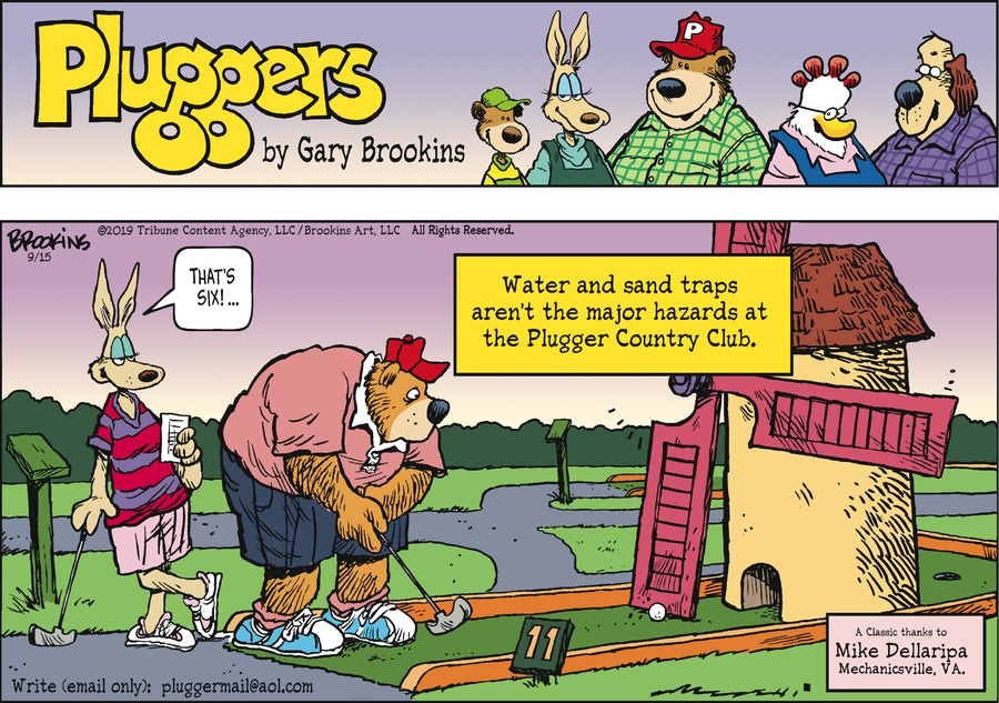 Pluggers by Gary Brookins for September 15, 2019