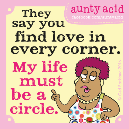 Aunty Acid for Apr 26, 2016 Comic Strip