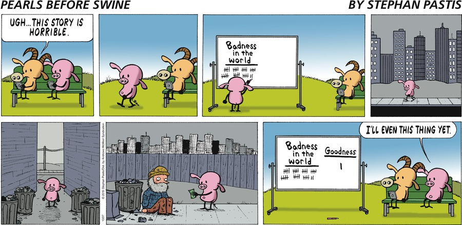 Pearls Before Swine Comic Strip for October 27, 2019