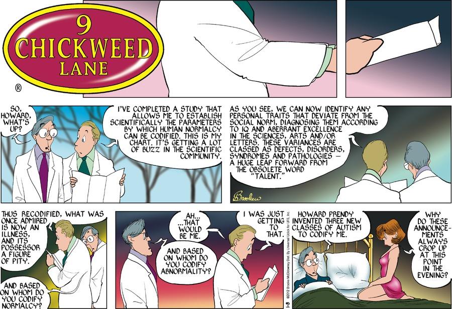 9 Chickweed Lane Comic Strip for January 08, 2012
