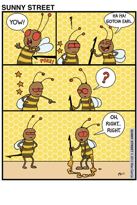 Sunny Street Comic Strip for July 09, 2013