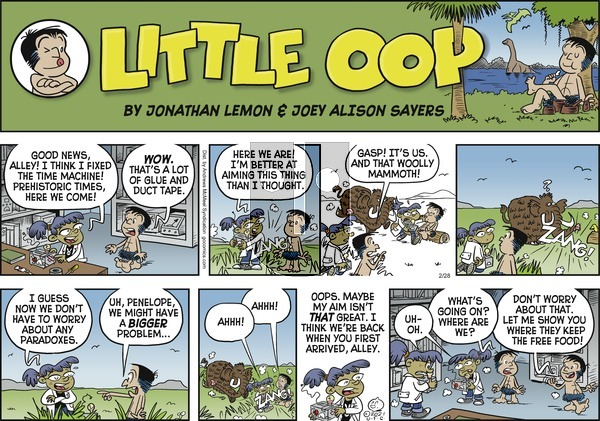 Alley Oop - Sunday February 28, 2021 Comic Strip